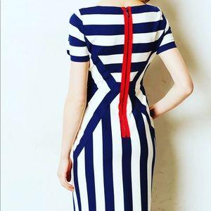 Maeve @ Anthropologie Dress size 0 Red zipper